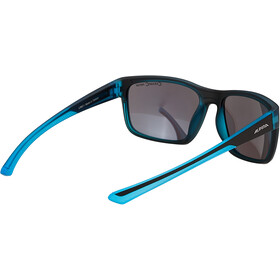 Alpina Lino I Glasses black/blue transparent/blue mirror